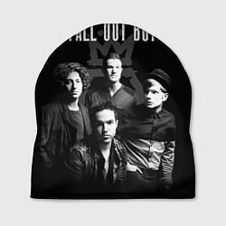 Шапка Fall out boy band цвета 3D-принт — фото 1