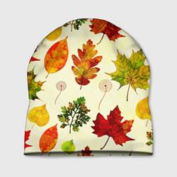 Шапка Осень цвета 3D — фото 1