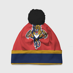 Шапка с помпоном Florida Panthers цвета 3D-черный — фото 1