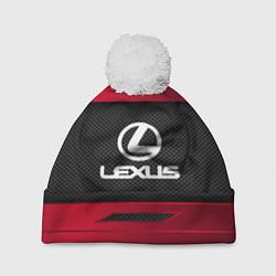 Шапка с помпоном Lexus Sport цвета 3D-белый — фото 1