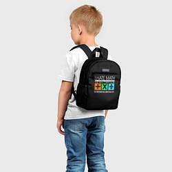 Детский рюкзак Ed Sheeran: I hate math цвета 3D-принт — фото 2