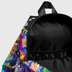 Детский рюкзак BRAWL STARS LEON цвета 3D-принт — фото 2
