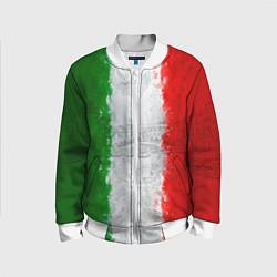 Бомбер детский Italian цвета 3D-белый — фото 1