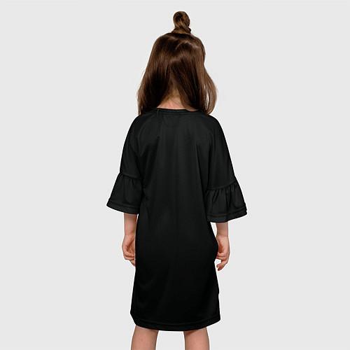 Детское платье Череп / 3D-принт – фото 4