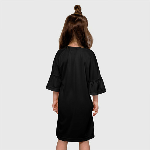 Детское платье KISS: Gene Simmons / 3D-принт – фото 4