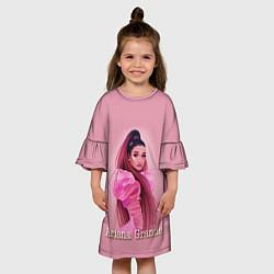 Платье клеш для девочки Ariana Grande Ариана Гранде цвета 3D — фото 2