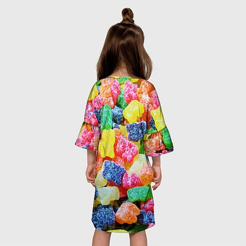 Детское платье Мармеладные мишки / 3D – фото 4