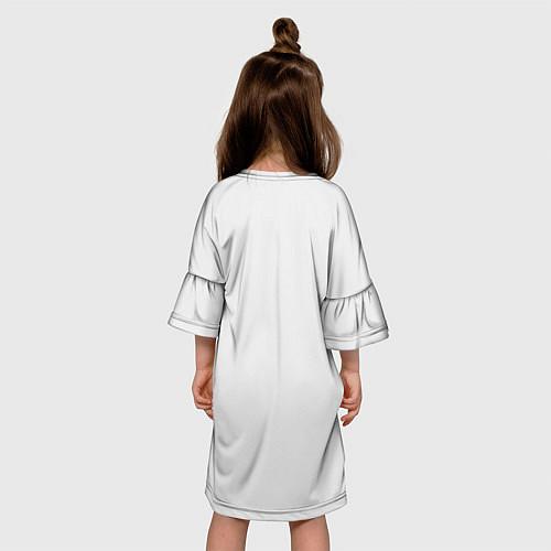 Детское платье Кино: Виктор Цой / 3D – фото 4