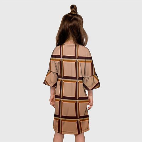 Детское платье Шоколад / 3D – фото 4