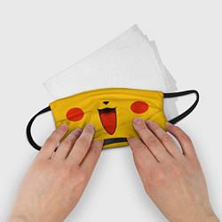 Маска для лица детская Pokemon Pikachu цвета 3D-принт — фото 2