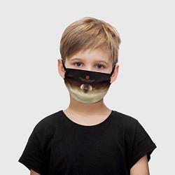 Маска для лица детская The International Championships цвета 3D-принт — фото 1