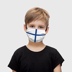 Детская маска для лица Флаг Финляндии