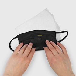 Маска для лица детская Настоящий охраник цвета 3D-принт — фото 2
