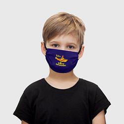 Маска для лица детская The Beatles: Yellow Submarine цвета 3D-принт — фото 1