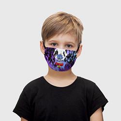 Маска для лица детская BRAWL STARS ОБОРОТЕНЬ LEON - фото 1