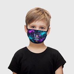 Маска для лица детская BRAWL STARS BIBI цвета 3D — фото 1