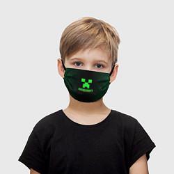 Маска для лица детская Minecraft цвета 3D — фото 1