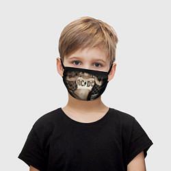 Маска для лица детская AC/DC Girl цвета 3D-принт — фото 1