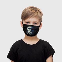 Маска для лица детская Взгляд Терминатора цвета 3D — фото 1