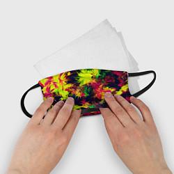 Маска для лица детская Кислотный взрыв цвета 3D — фото 2