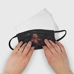 Маска для лица детская Oxxxymiron: Горгород цвета 3D — фото 2