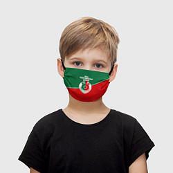 Маска для лица детская Мы паровозы цвета 3D — фото 1