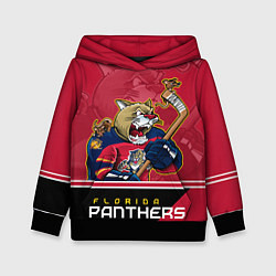 Толстовка-худи детская Florida Panthers цвета 3D-черный — фото 1