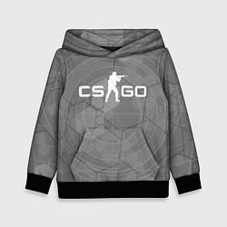 Толстовка-худи детская CS:GO Grey Style цвета 3D-черный — фото 1