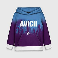 Толстовка-худи детская Avicii Star цвета 3D-белый — фото 1