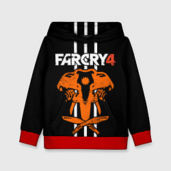 Толстовка-худи детская Far Cry 4: Orange Elephant цвета 3D-красный — фото 1