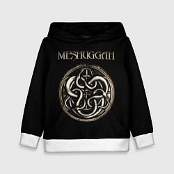 Толстовка-худи детская Meshuggah цвета 3D-белый — фото 1