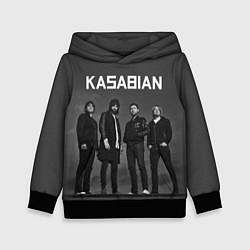 Толстовка-худи детская Kasabian: Boys Band цвета 3D-черный — фото 1