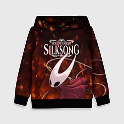 Толстовка-худи детская Hollow Knight: Silksong цвета 3D-черный — фото 1