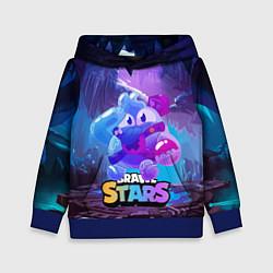Детская толстовка Сквик Squeak Brawl Stars