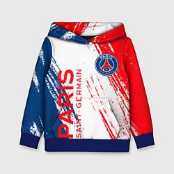 Толстовка-худи детская ФК ПСЖ FC PSG PARIS SG цвета 3D-синий — фото 1