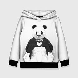 Детская толстовка Panda Love