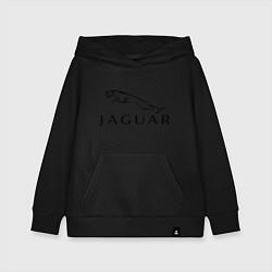 Толстовка детская хлопковая Jaguar цвета черный — фото 1