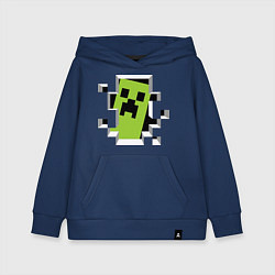 Детская толстовка-худи Crash Minecraft