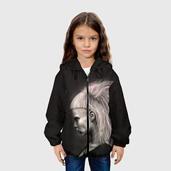 Куртка 3D с капюшоном для ребенка Die Antwoord GIrl - фото 2