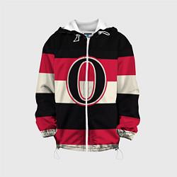 Куртка с капюшоном детская Ottawa Senators O цвета 3D-белый — фото 1