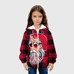 Куртка 3D с капюшоном для ребенка Санта хипстер - фото 2