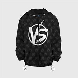 Куртка с капюшоном детская Versus цвета 3D-черный — фото 1