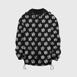 Детская 3D-куртка с капюшоном с принтом Versus Battle, цвет: 3D-черный, артикул: 10114713205458 — фото 1