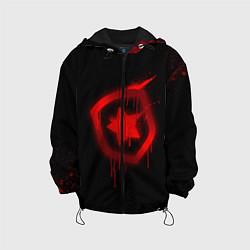 Куртка с капюшоном детская Gambit: Black collection цвета 3D-черный — фото 1