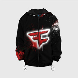 Куртка с капюшоном детская FaZe Clan: Black collection цвета 3D-черный — фото 1