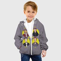 Куртка с капюшоном детская Skam Faces цвета 3D-белый — фото 2