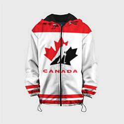 Куртка с капюшоном детская Canada Team цвета 3D-черный — фото 1