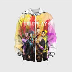 Куртка с капюшоном детская Coldplay цвета 3D-белый — фото 1