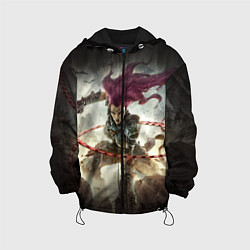 Куртка с капюшоном детская Darksiders Warrior цвета 3D-черный — фото 1