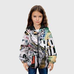 Детская 3D-куртка с капюшоном с принтом Hico, цвет: 3D-черный, артикул: 10147034705458 — фото 2